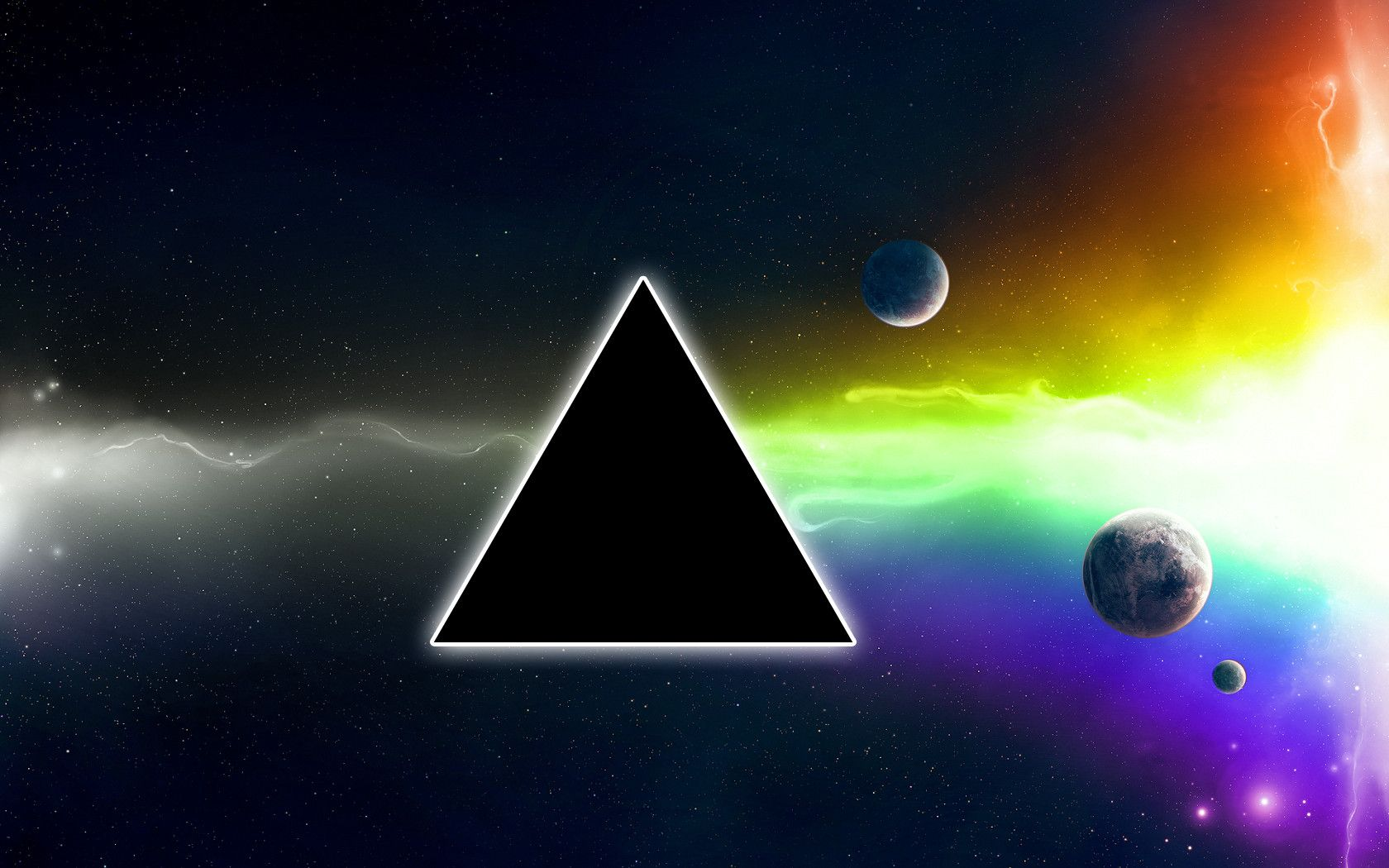 The Dark Side Of The Moon Wallpaper