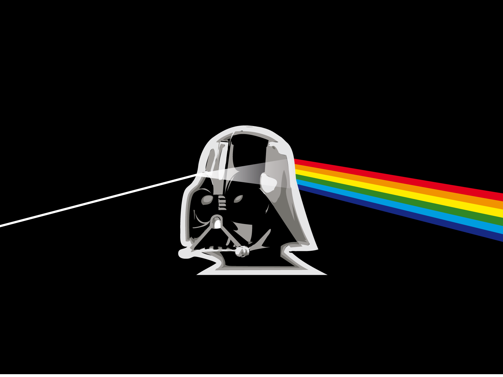 The Dark Side Wallpaper