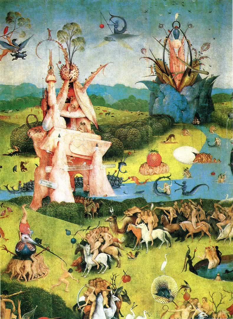 Download The Garden Of Earthly Delights Wallpaper Gallery