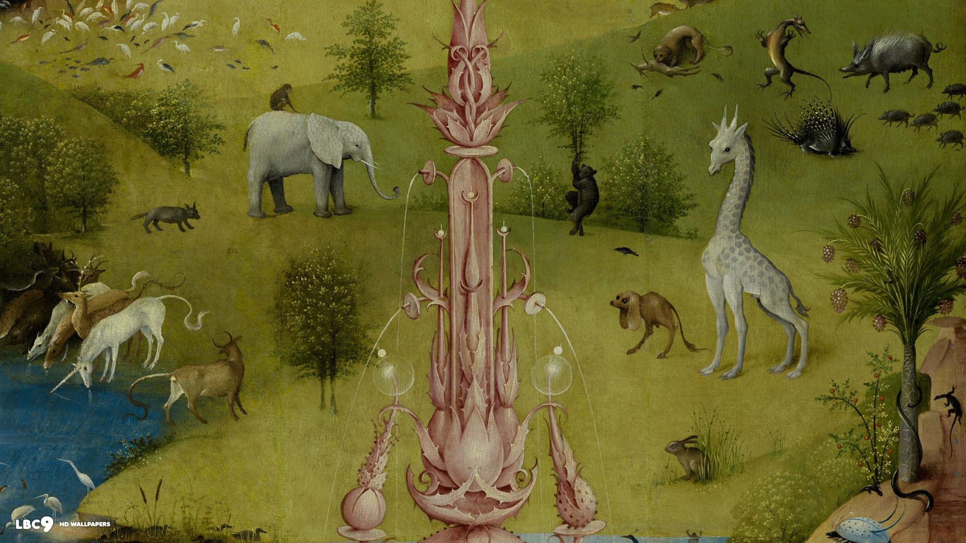 Download the garden of earthly delights wallpaper gallery for The garden of earthly delights