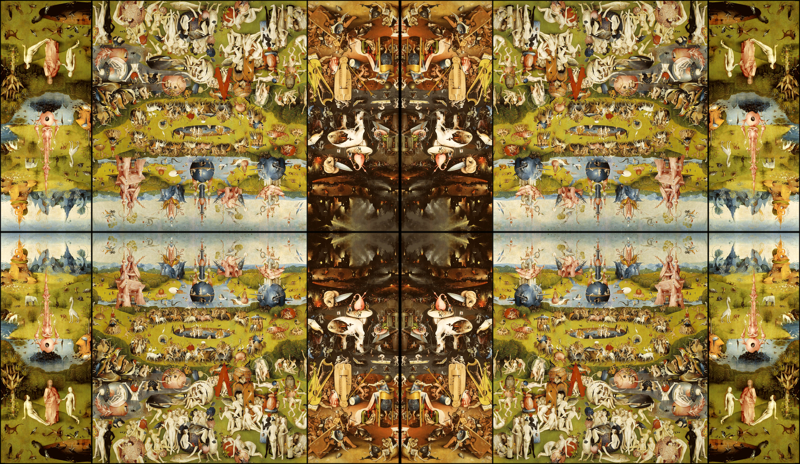 The Garden Of Earthly Delights Wallpaper