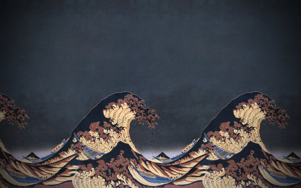 The Great Wave Off Kanagawa Wallpaper