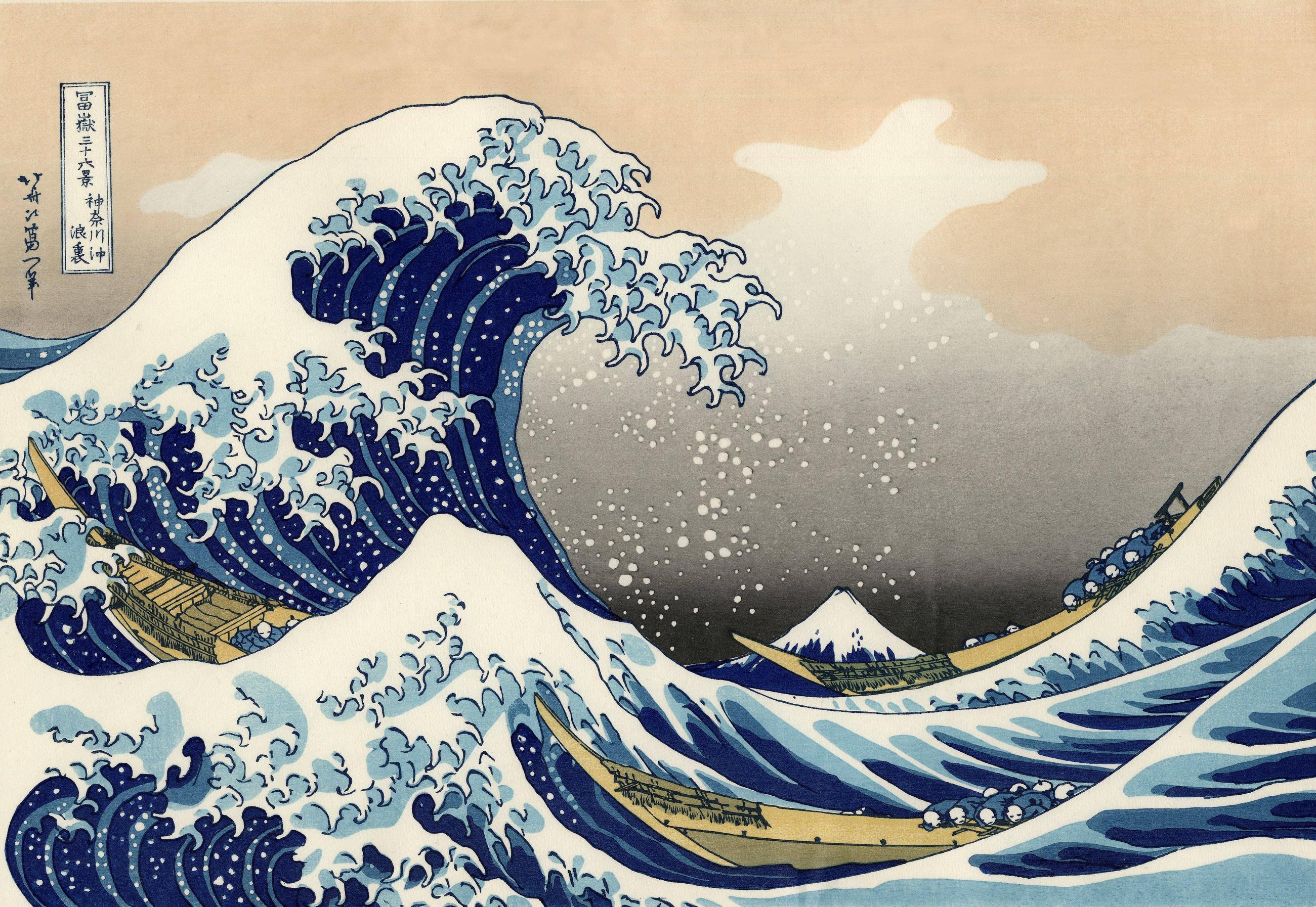 The Great Wave Wallpaper