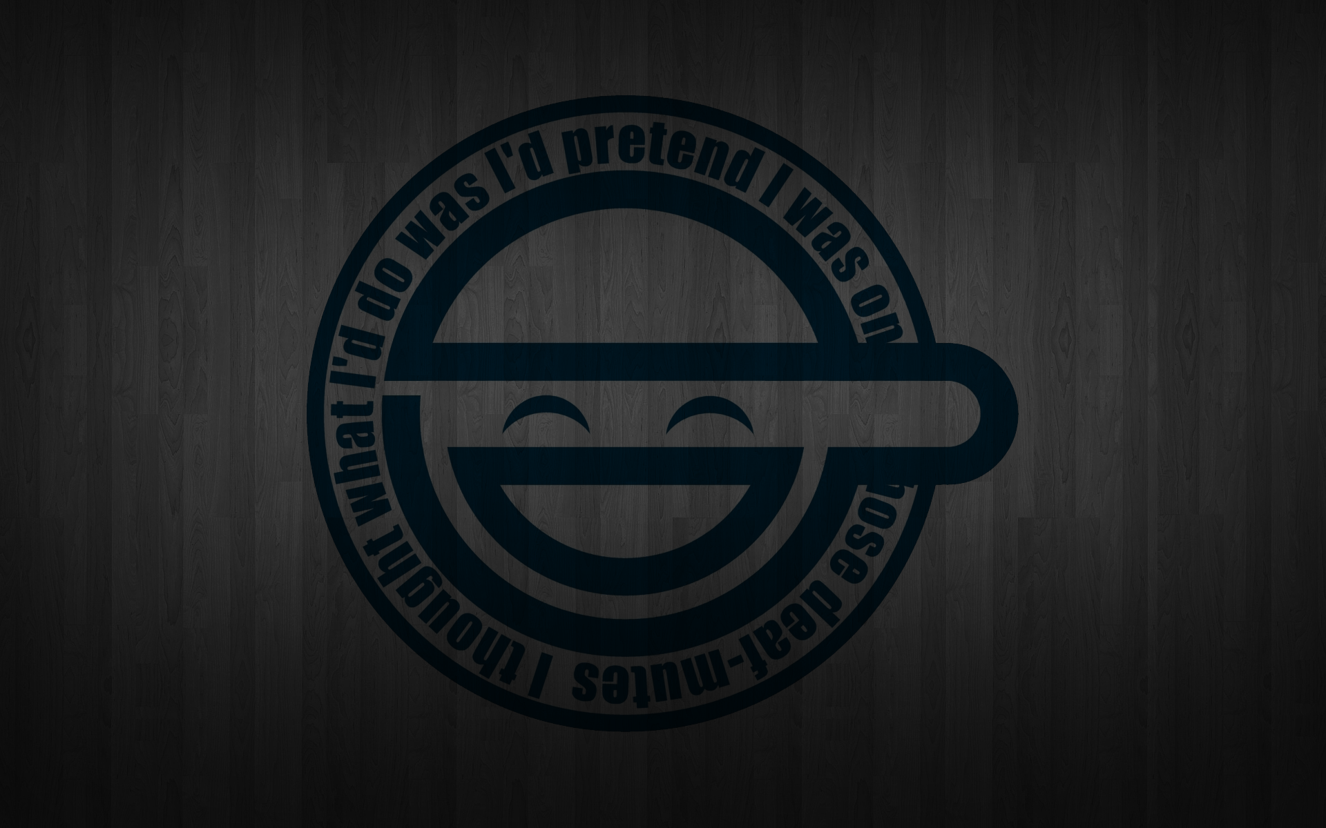 The Laughing Man Wallpaper