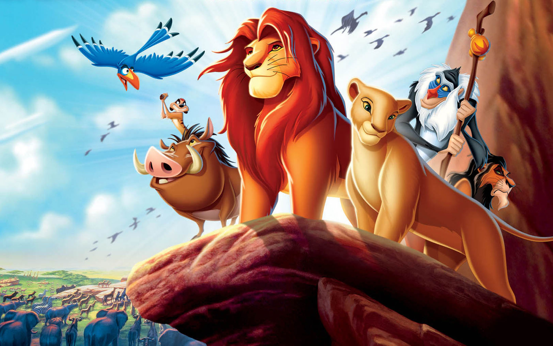 The Lion King Wallpaper HD