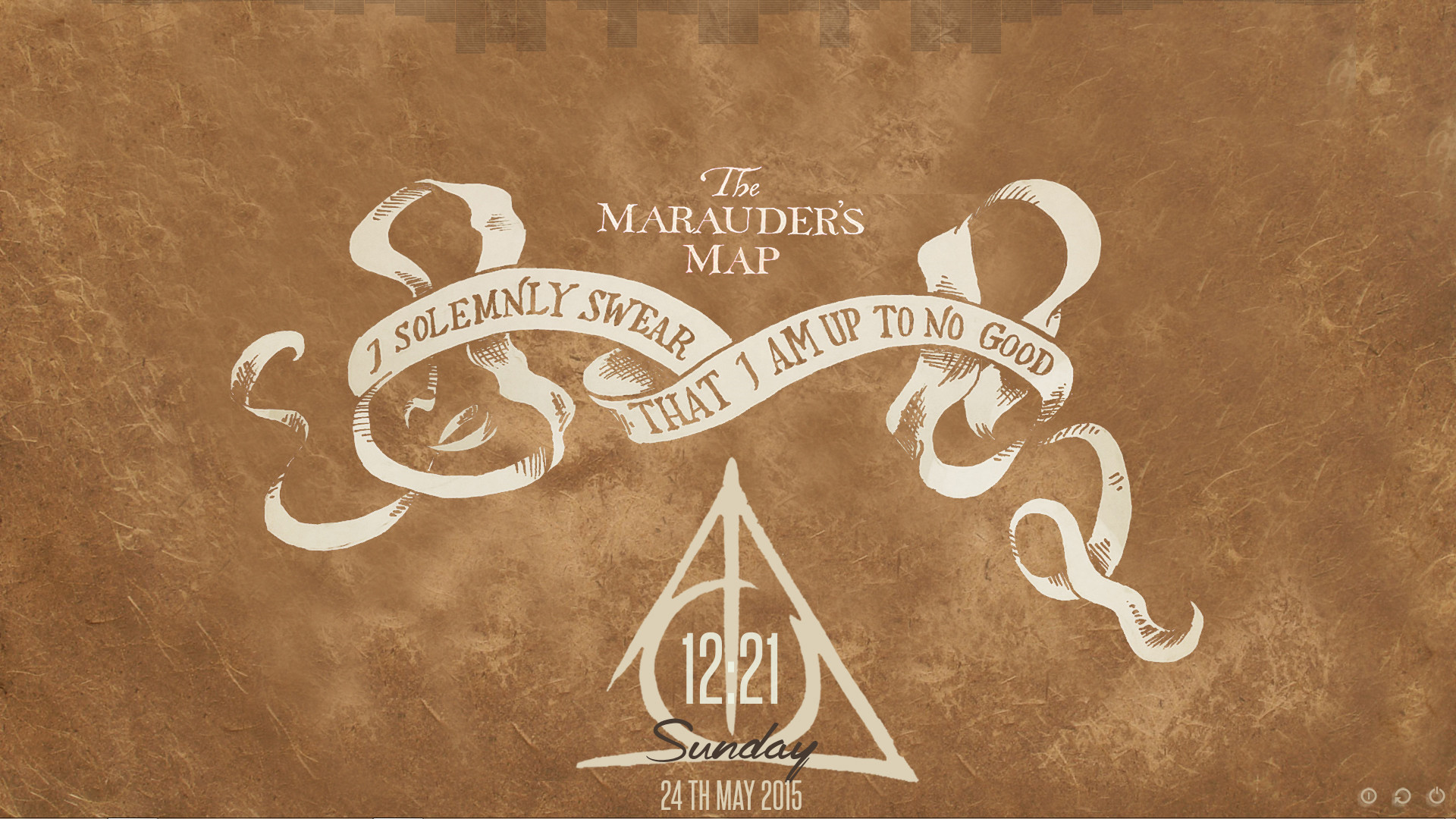 The Marauders Map Wallpaper