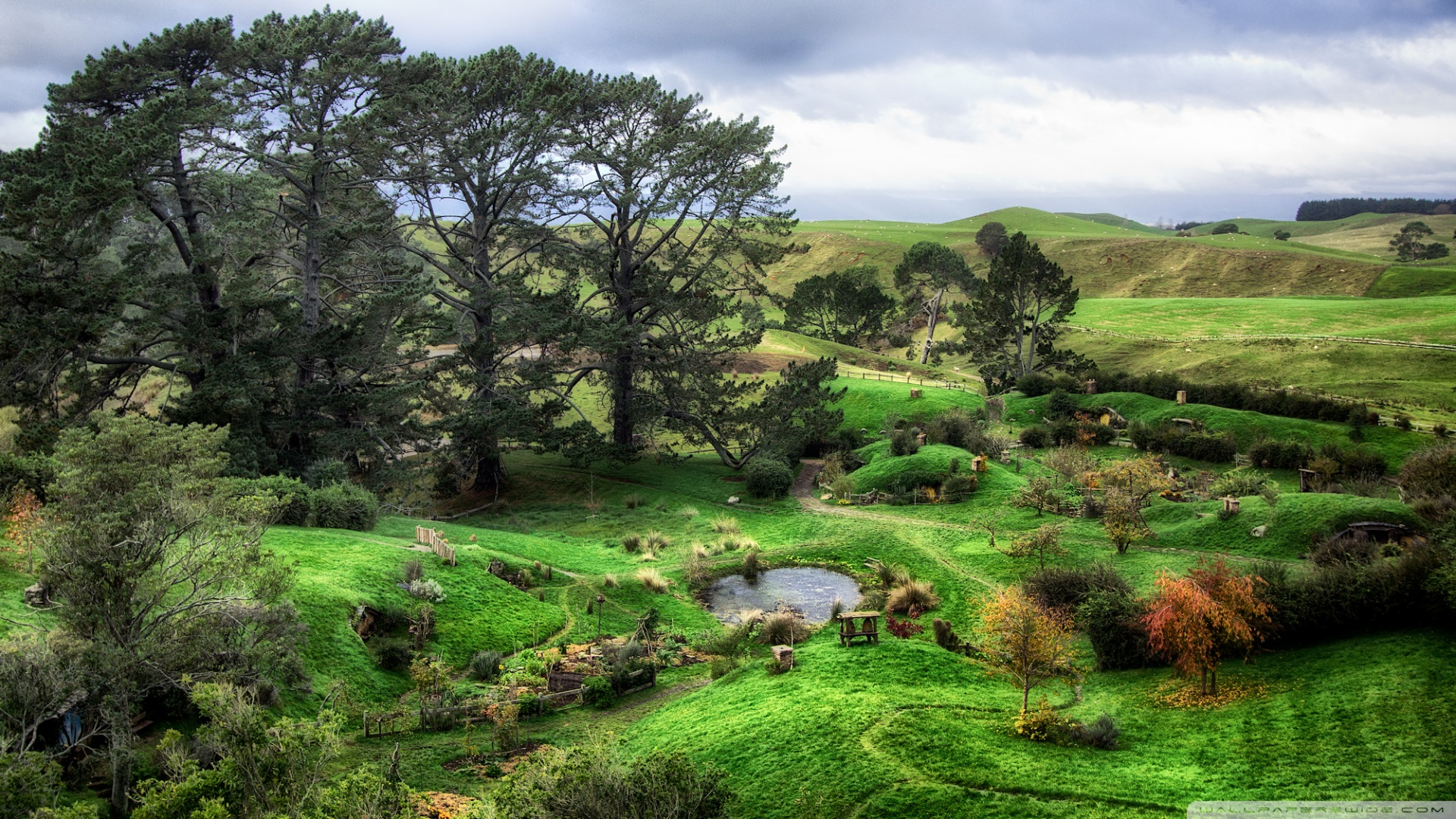 The Shire Wallpaper