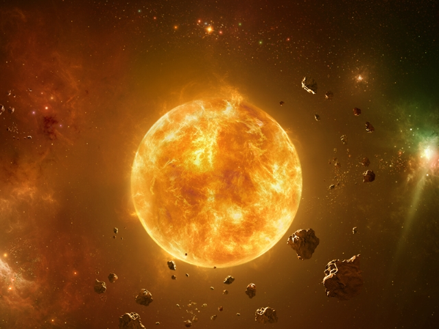 The Sun Wallpaper
