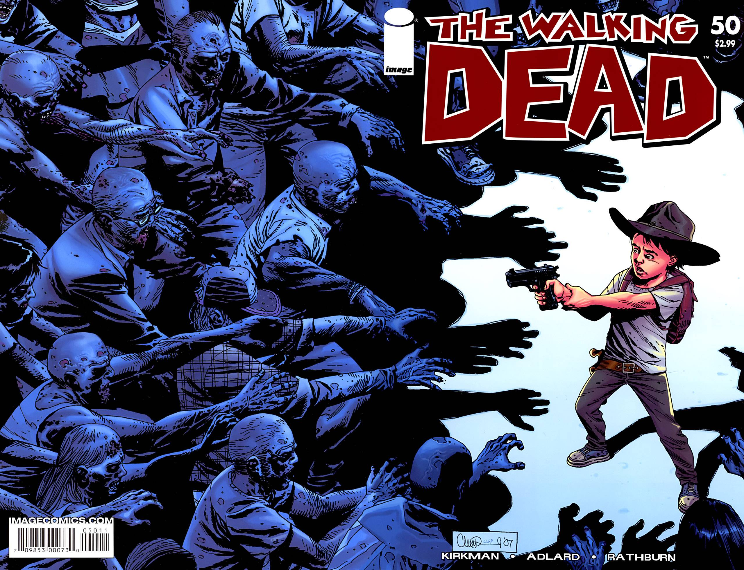 The Walking Dead Comic Book Wallpaper