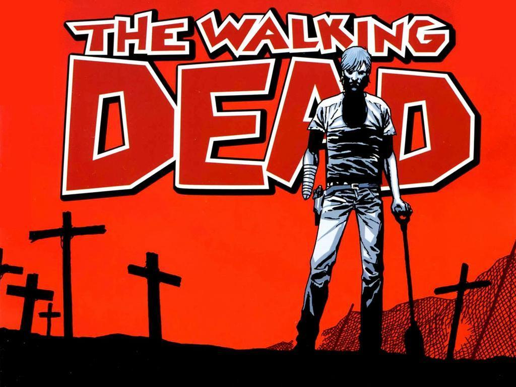 The Walking Dead Comic Wallpaper