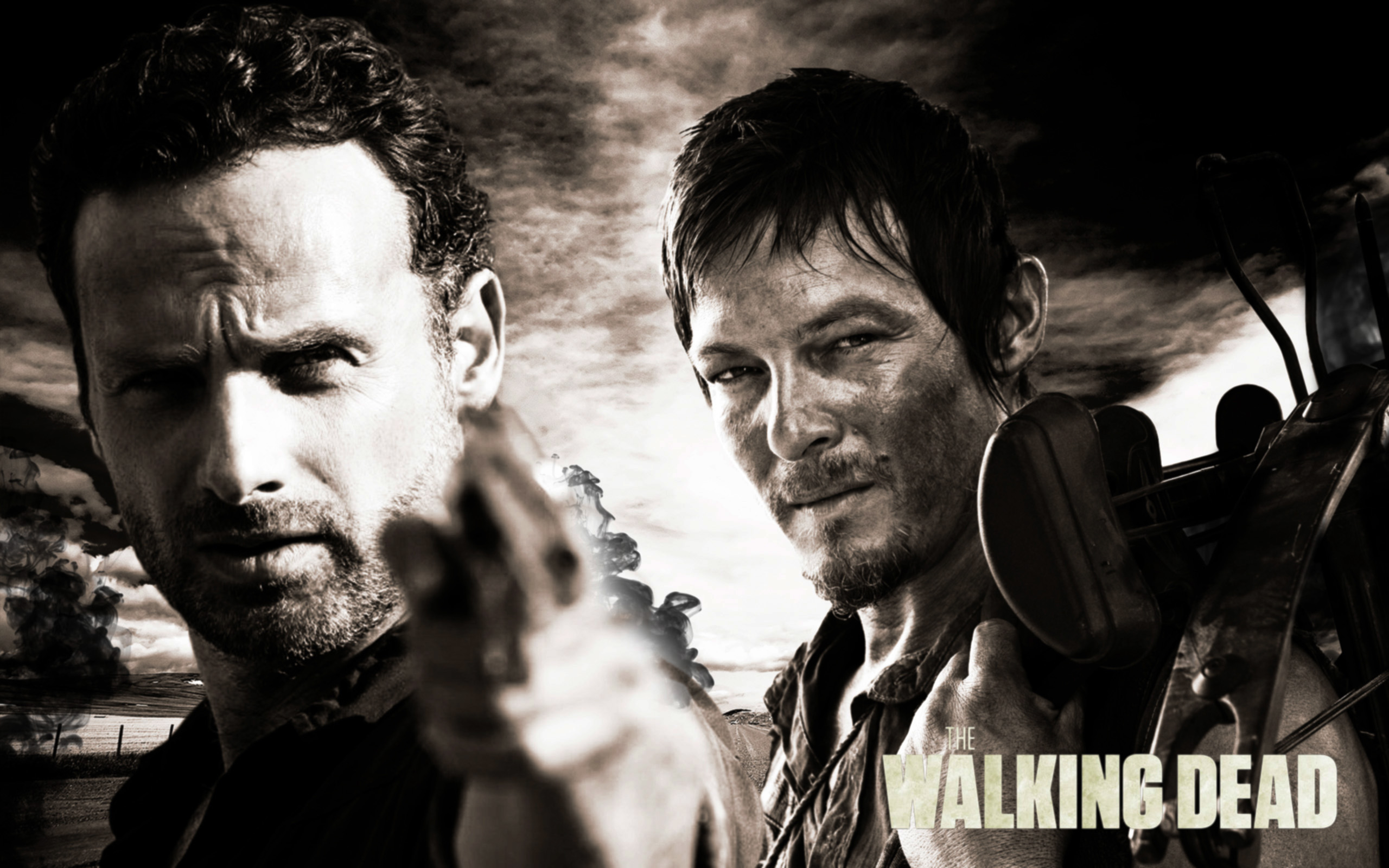 The Walking Dead Daryl Wallpaper