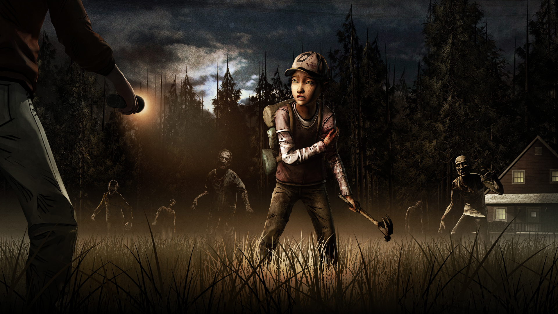 The Walking Dead Season 2 Wallpaper
