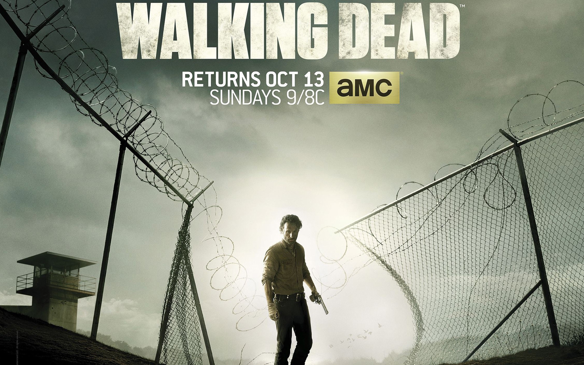 The Walking Dead Season 4 Wallpaper