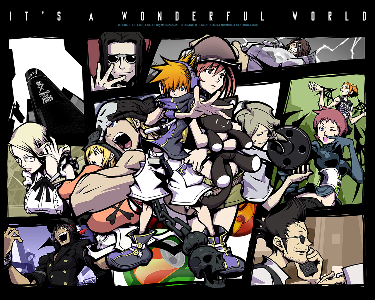 The World Ends With You Wallpaper