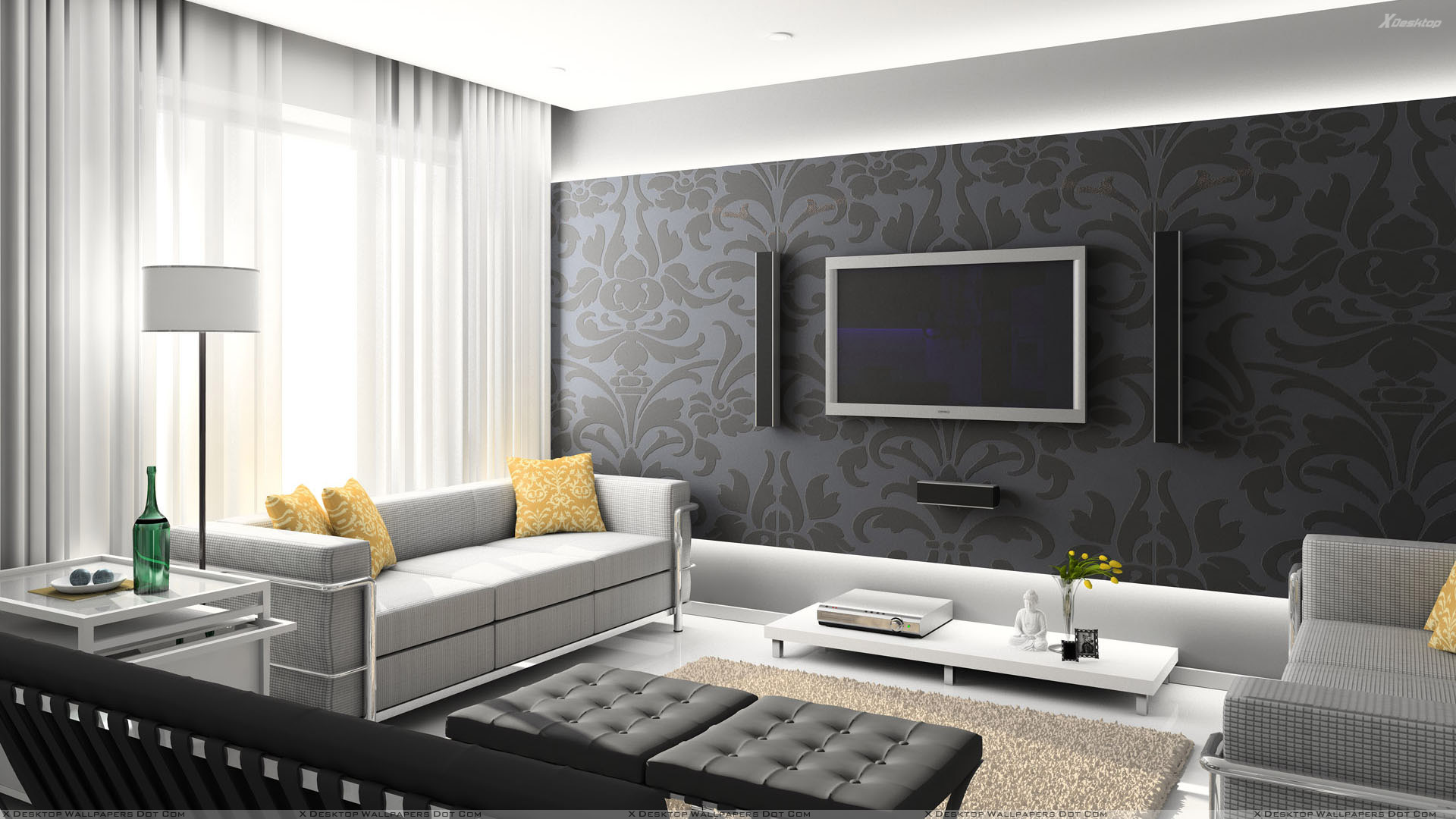 Theatre Room Wallpaper