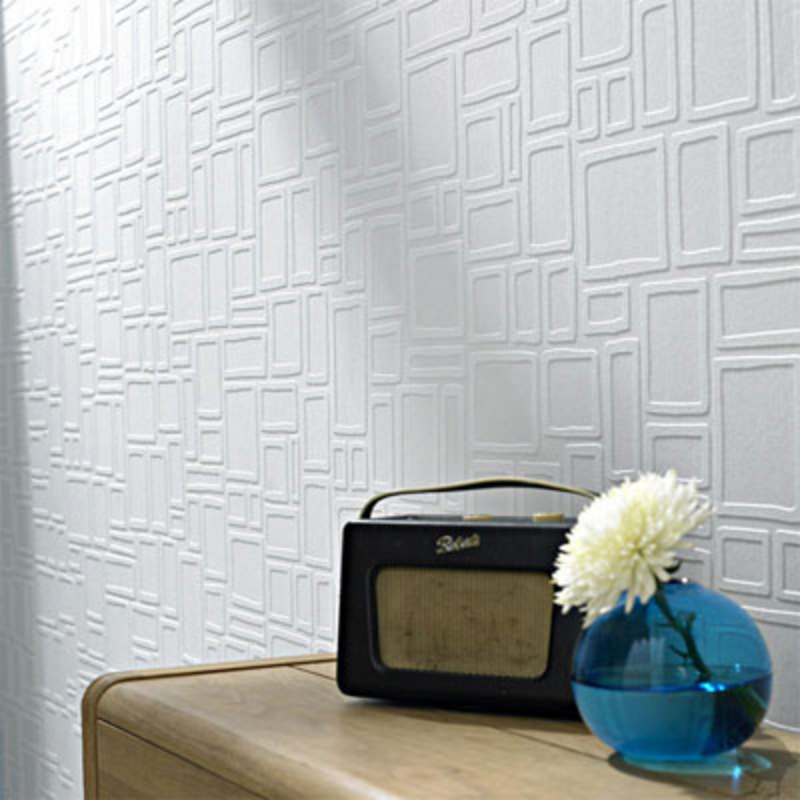 Thick Wallpaper To Cover Paneling
