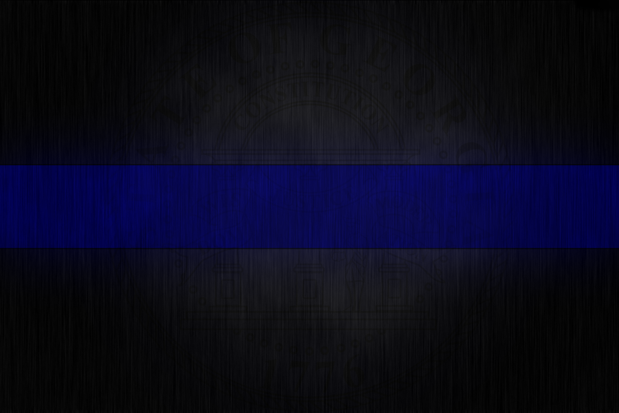 Download Thin Blue Line Desktop Wallpaper Gallery