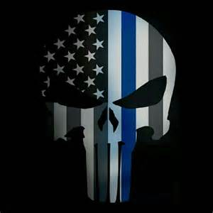 punisher law enforcement wallpaper
