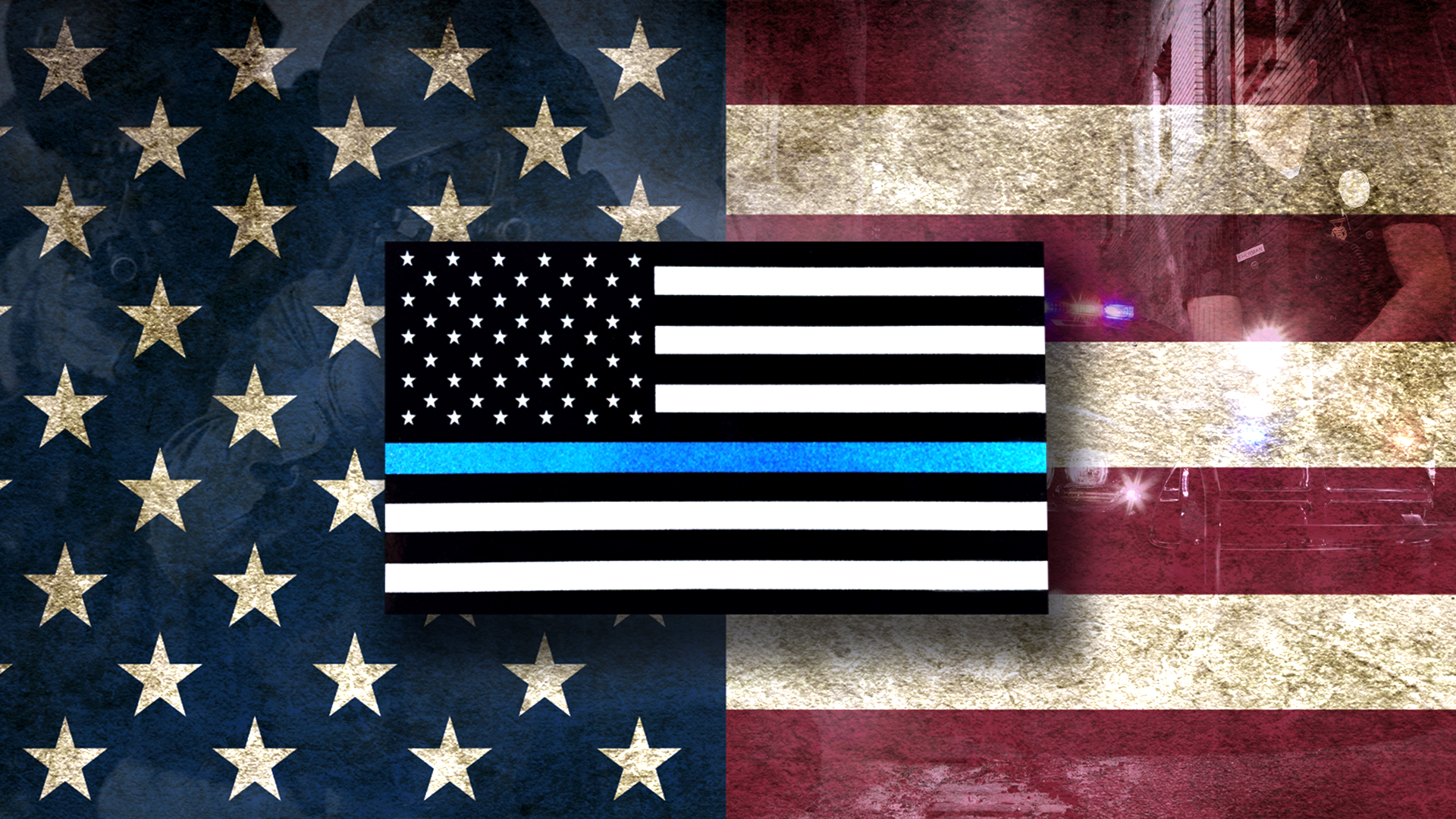 Red Line American Flag >> Download Thin Blue Line Wallpaper Gallery