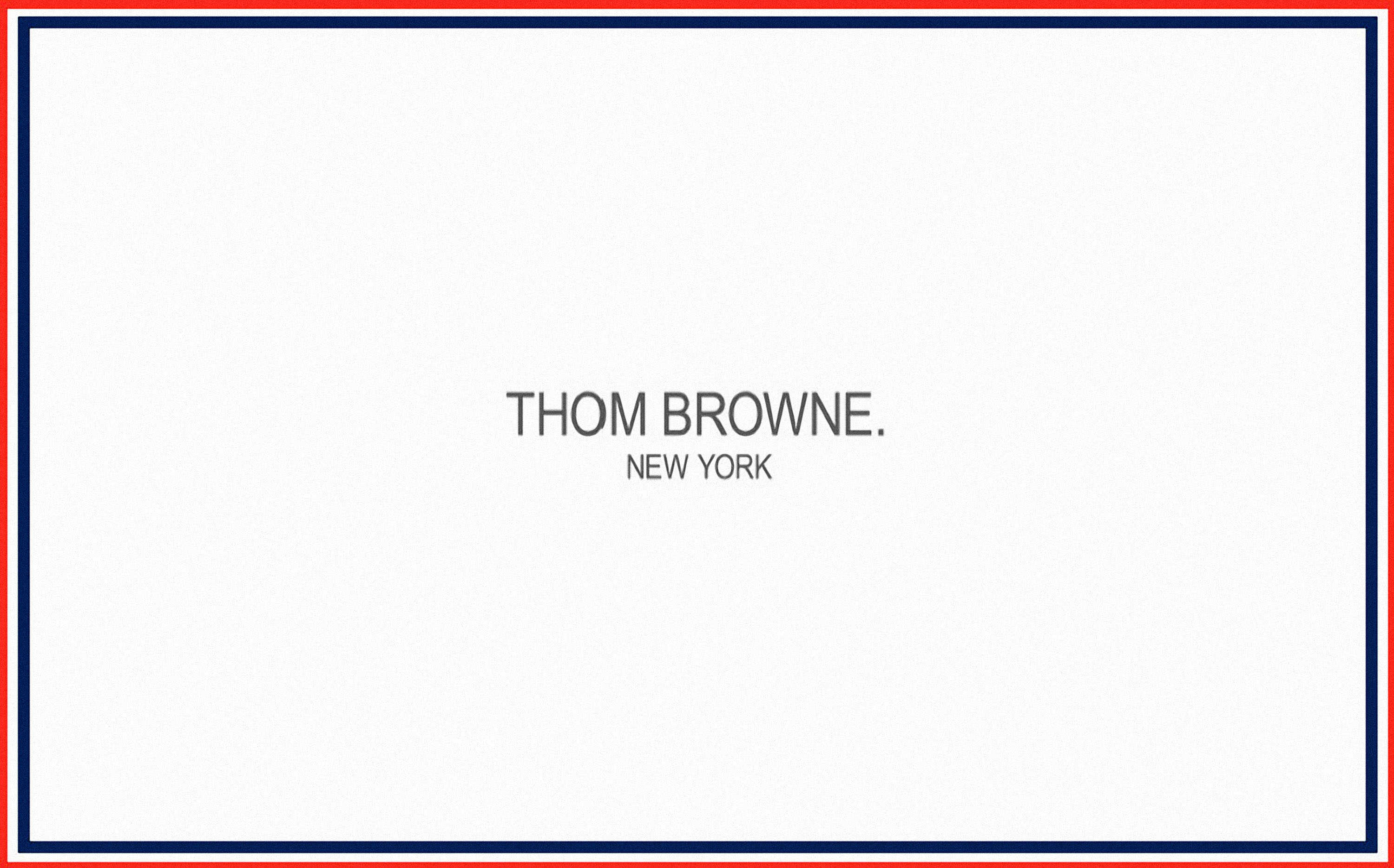 Thom Browne Wallpaper