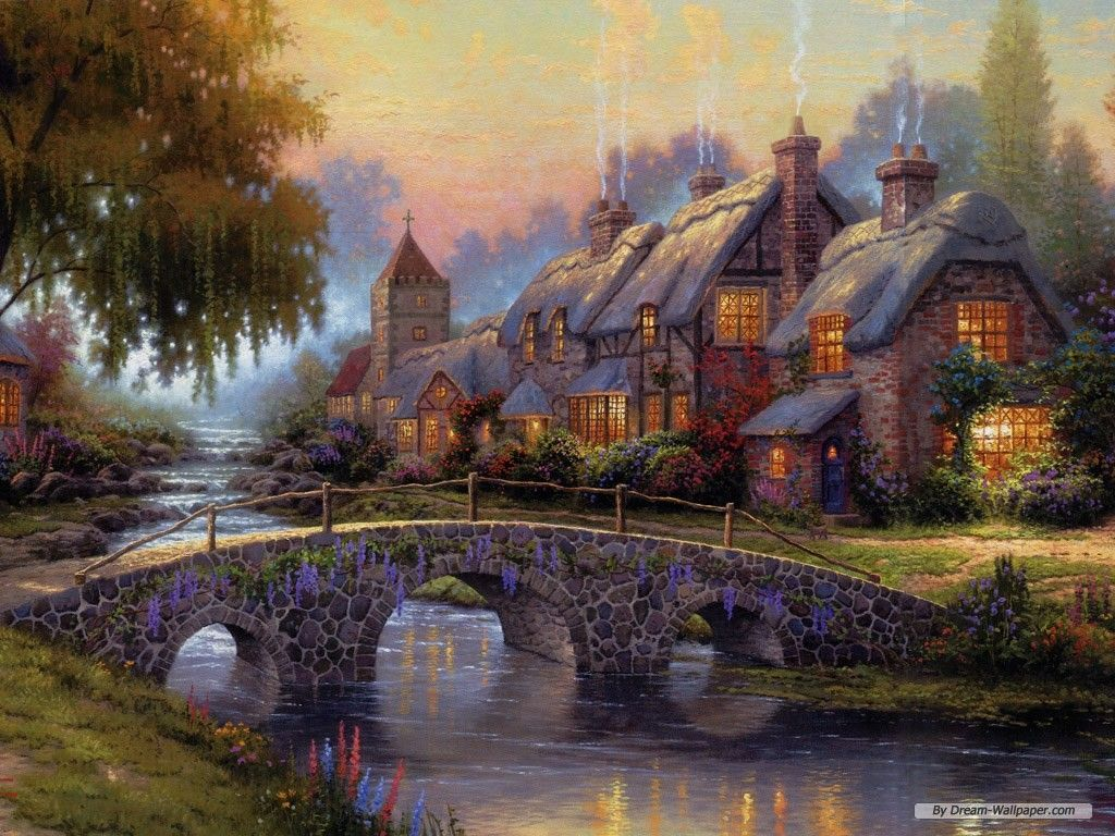 Thomas Kinkade Wallpaper