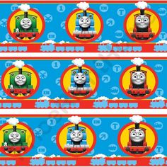 Thomas The Train Wallpaper Border
