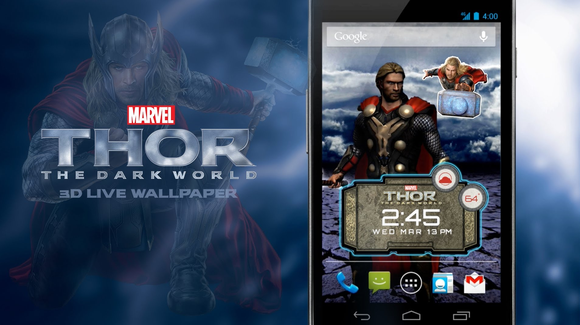 Thor Live Wallpaper