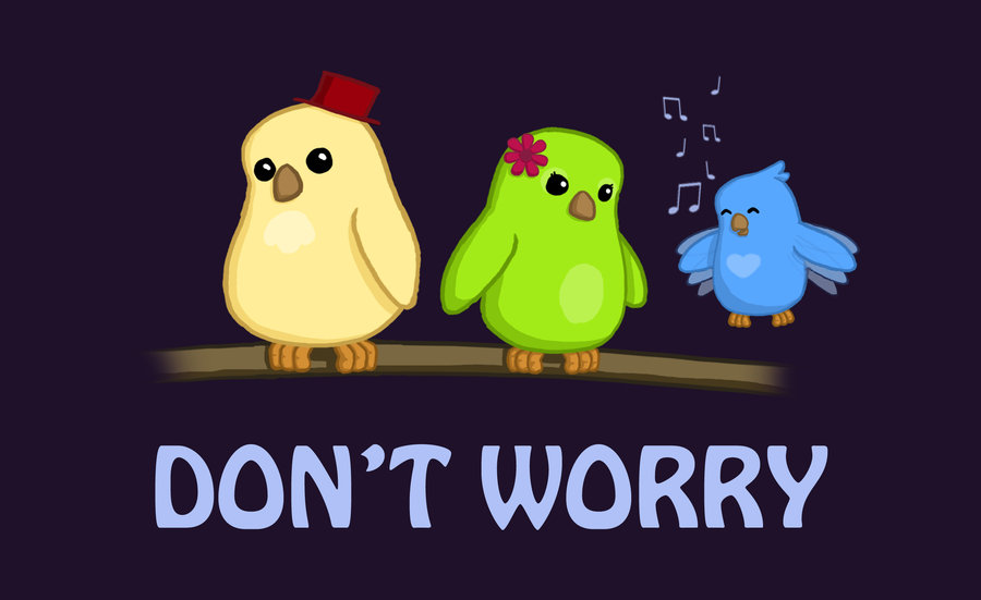 Three Little Birds Wallpaper