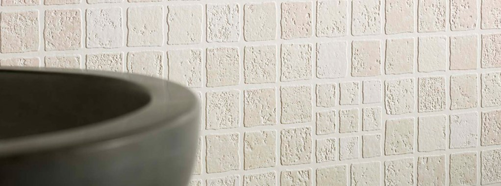 Tile Effect Wallpaper For Kitchen