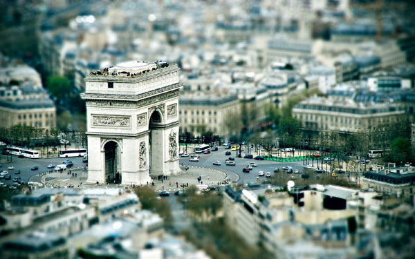 Tilt-Shift Wallpaper