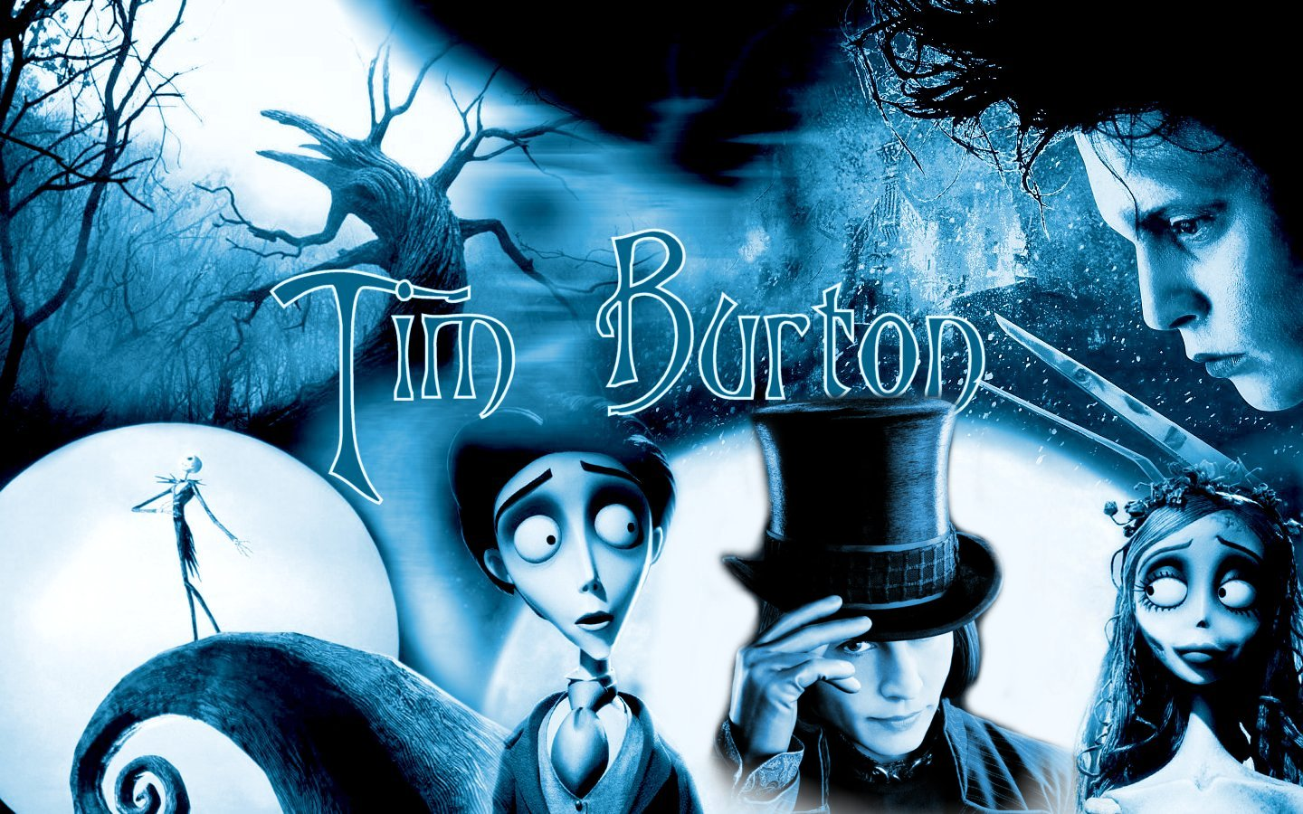 Tim Burton Movie Wallpaper