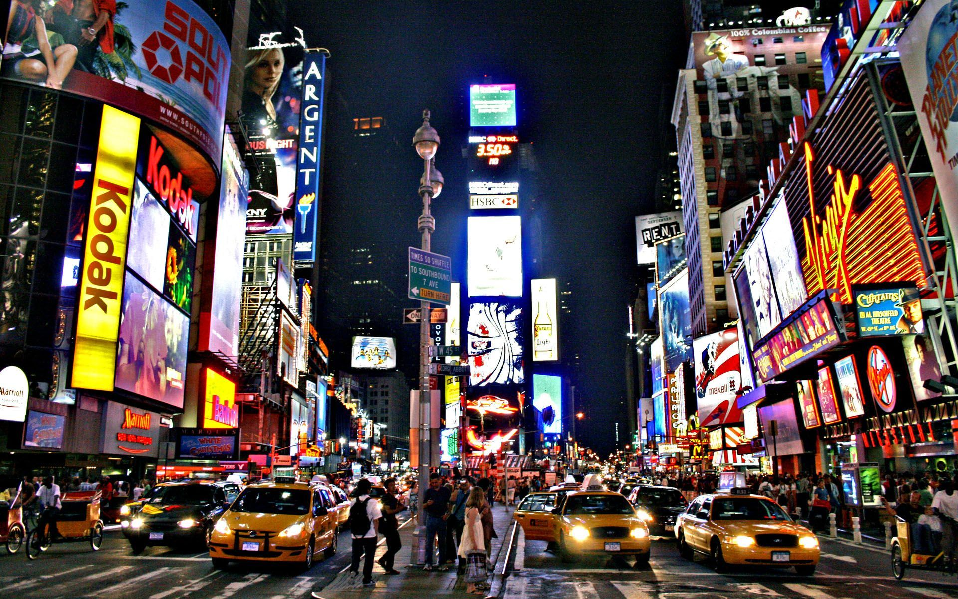 Time Square Wallpaper