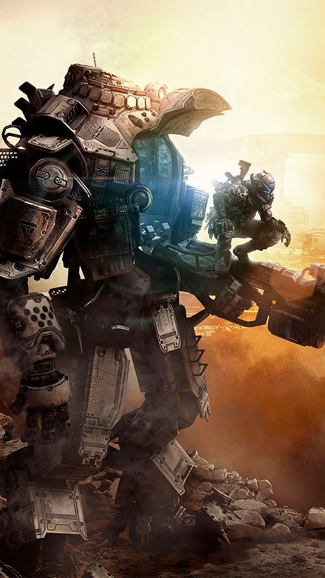 Titanfall Phone Wallpaper