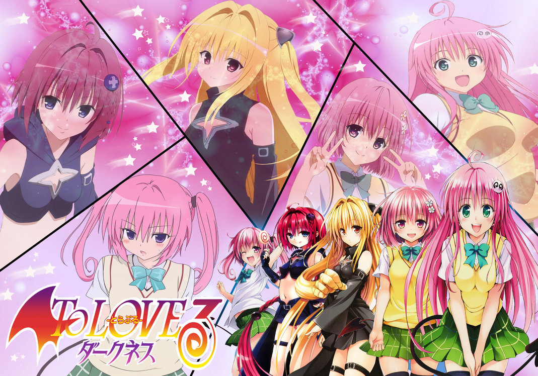 To Love Ru Darkness Wallpaper
