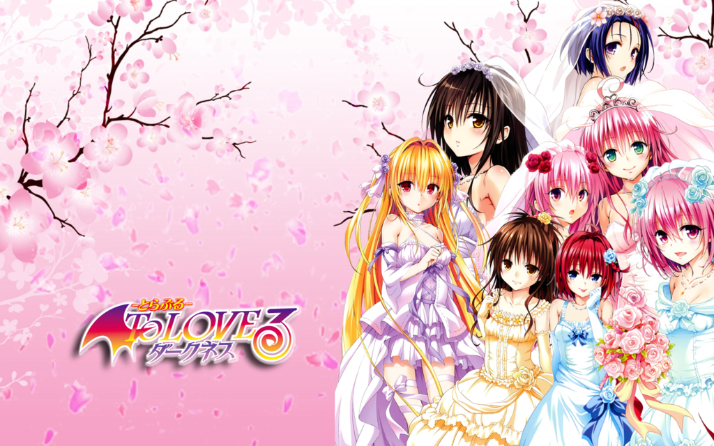Wallpaper Hd To Love Ru Darkness : Download To Love Ru Darkness Wallpaper Gallery