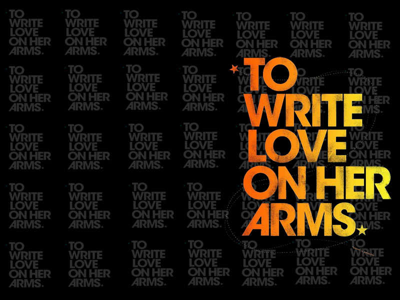 to write love on her arms essay To write love on her arms (twloha) is an american non-profit organization which aims to present hope for people struggling with addiction.
