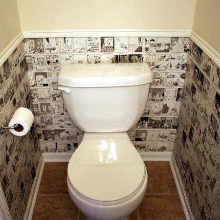 Toilet Wallpaper