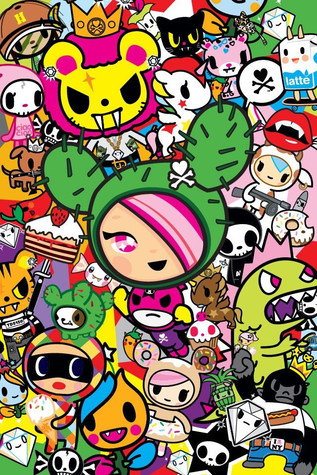Tokidoki Phone Wallpaper