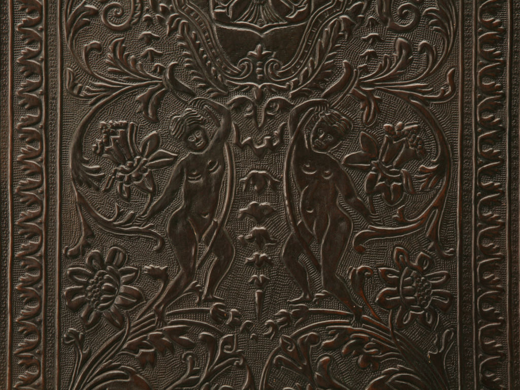 Tooled Leather Wallpaper