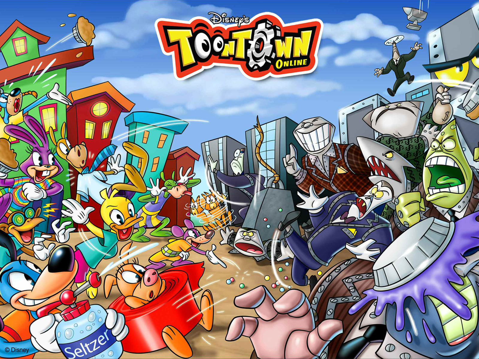 Toontown Wallpaper