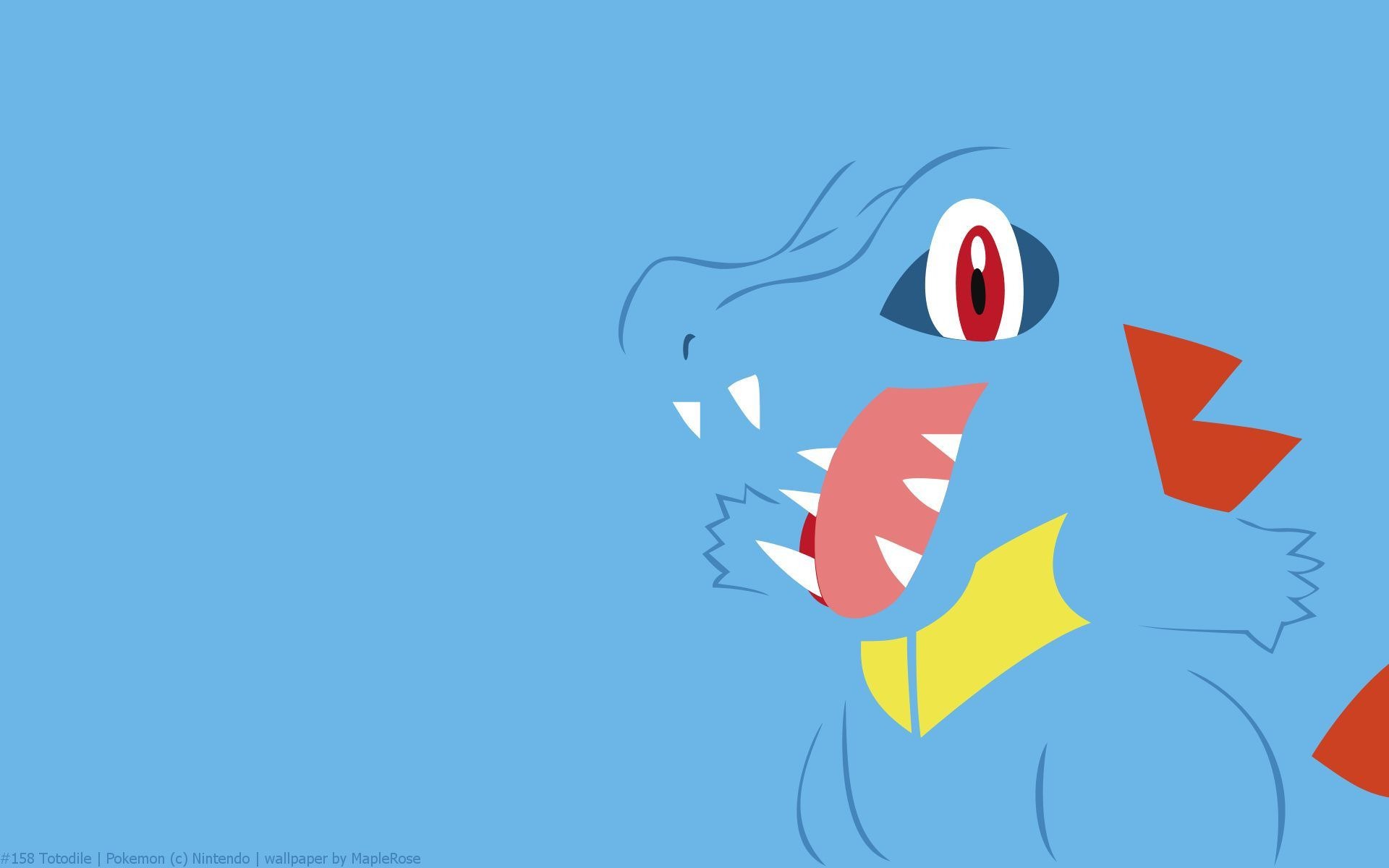Totodile Wallpaper
