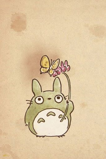 Totoro Phone Wallpaper