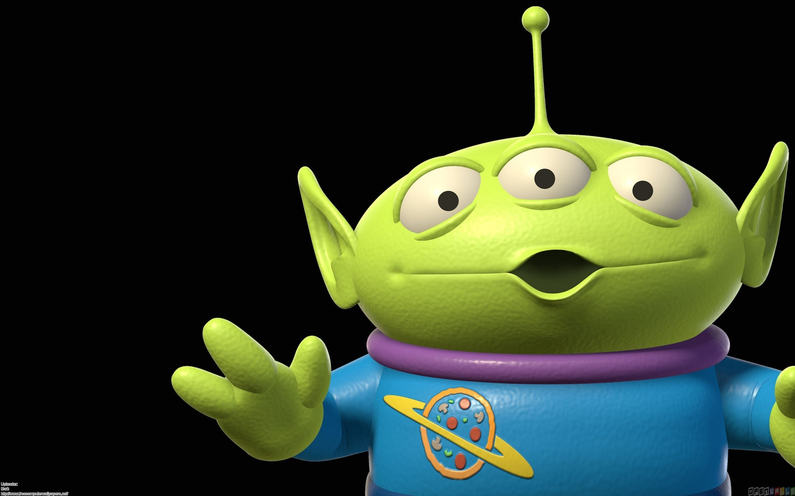 Does not Toy story aliens know