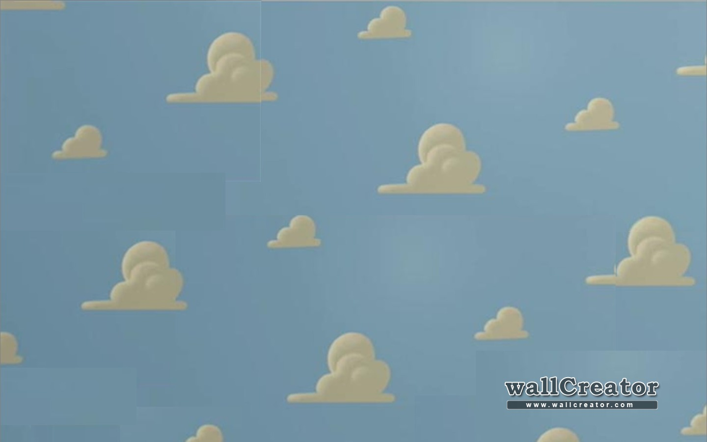 Toy Story Cloud Wallpaper