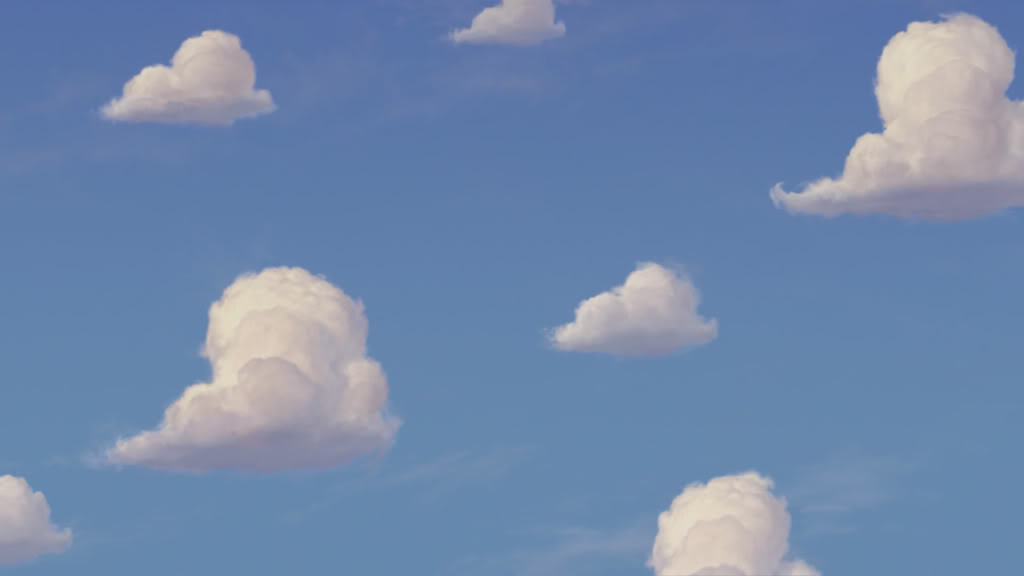 Toy Story Clouds Wallpaper