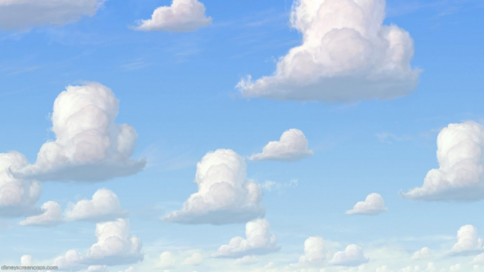 Download Toy Story Clouds Wallpaper Gallery