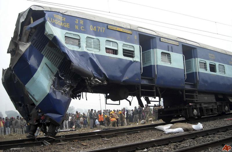 Train Accident Wallpaper