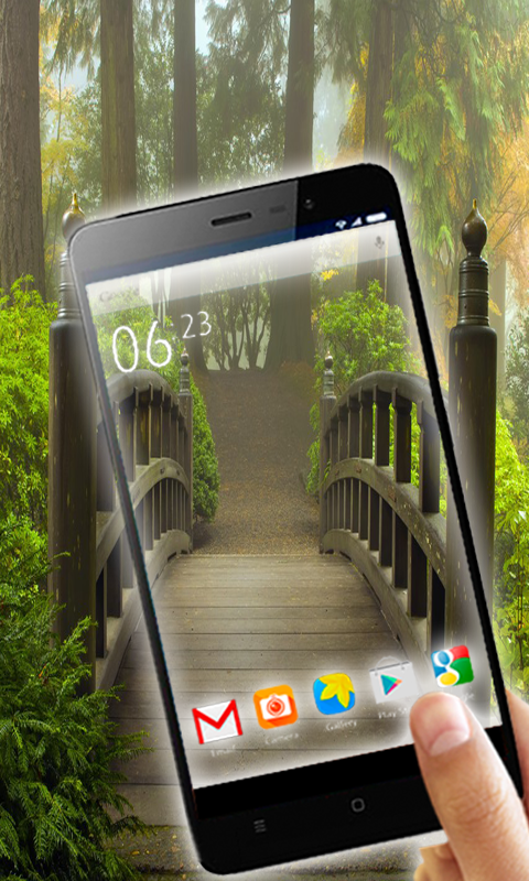 Transparent Live Wallpaper Apk
