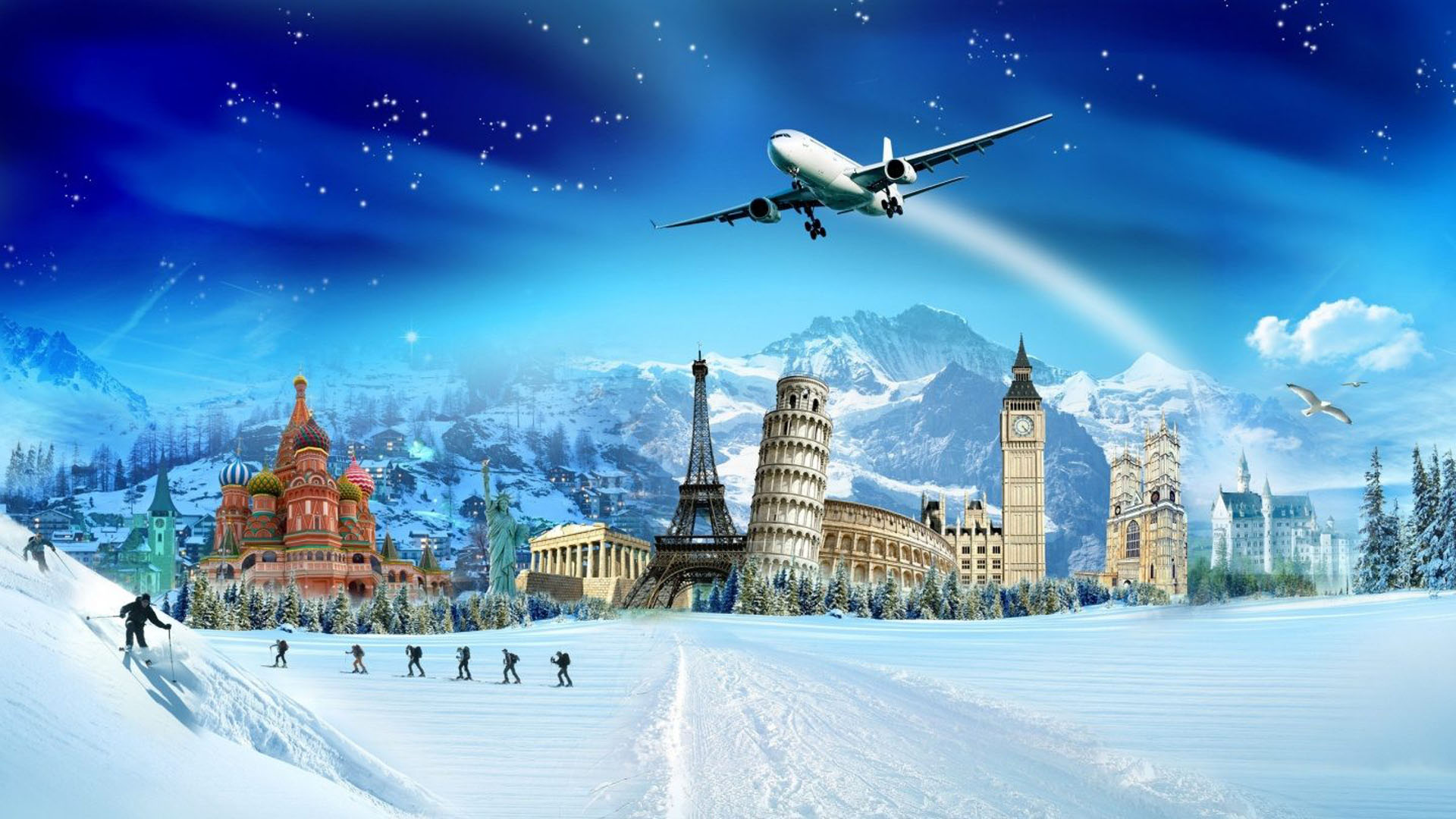 Travel Agency Wallpaper