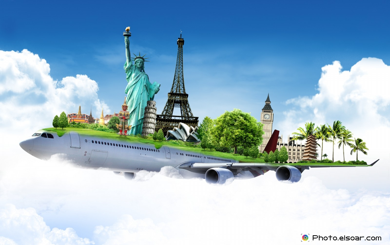 Download travel around the world wallpaper gallery for Waldo s world wide travel service